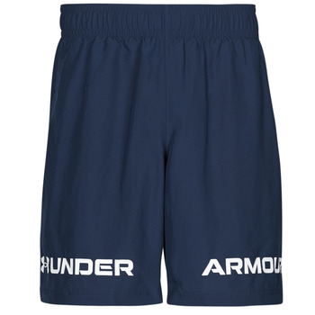 Clothing Men Shorts / Bermudas Under Armour UA WOVEN GRAPHIC WM SHORT Blue