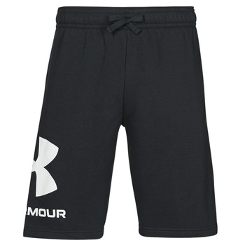 Clothing Men Shorts / Bermudas Under Armour UA RIVAL FLC BIG LOGO SHORTS Black