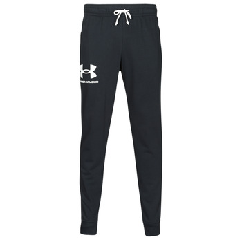 Clothing Men Tracksuit bottoms Under Armour UA RIVAL TERRY JOGGER Black