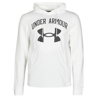 Clothing Men Sweaters Under Armour UA RIVAL FLEECE BIG LOGO HD White