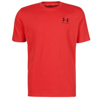 Clothing Men Short-sleeved t-shirts Under Armour UA SPORTSTYLE LC SS Red