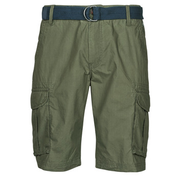 Clothing Men Shorts / Bermudas Petrol Industries SHORT CARGO Kaki