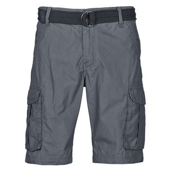 Clothing Men Shorts / Bermudas Petrol Industries SHORT CARGO Grey / Dark