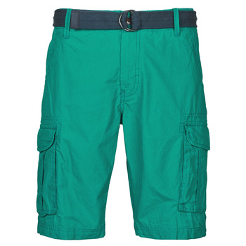 Clothing Men Shorts / Bermudas Petrol Industries SHORT CARGO Blue green