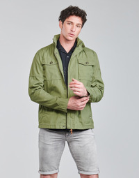Clothing Men Jackets Petrol Industries JACKET FIELD Kaki