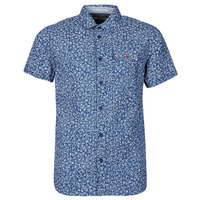 Clothing Men Short-sleeved shirts Petrol Industries SHIRT SS Blue