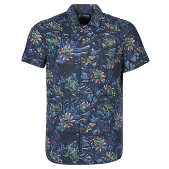 Clothing Men Short-sleeved shirts Petrol Industries SHIRT SS Marine