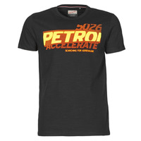 Clothing Men Short-sleeved t-shirts Petrol Industries T-SHIRT SS R-NECK F Black