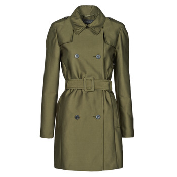 Clothing Women Trench coats Esprit TRENCH COURT Green / Olive