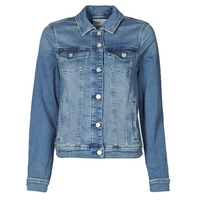 Clothing Women Denim jackets Esprit JOGGER JACKET Blue
