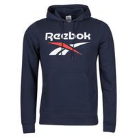 Clothing Men Sweaters Reebok Classic RI FT OTH BL HOODIE Blue