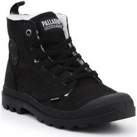 Shoes Men Mid boots Palladium Pampa HI ZIP WP M 05982-008-M black