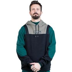 Clothing Men Sweaters Sergio Tacchini Sweatshirt  Bliss noir/gris/vert
