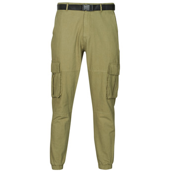 Clothing Men 5-pocket trousers Yurban OUNERI Kaki