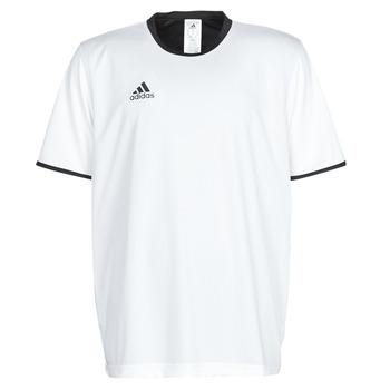 Clothing Men Short-sleeved t-shirts adidas Performance TAN REV JSY White
