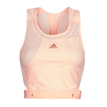 Clothing Women Sport bras adidas Performance HEAT.RDY TANK Pink