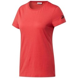 Clothing Women Short-sleeved t-shirts Reebok Sport Wor Comm Tee Black