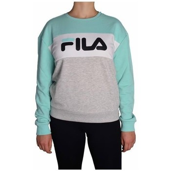 Clothing Women Sweaters Fila Women Leah Crew Sweat Grey, Green