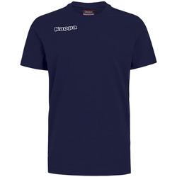 Clothing Boy T-shirts & Polo shirts Kappa T-shirt enfant  Tee bleu royal