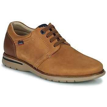 Shoes Men Derby Shoes CallagHan PARKLINE Brown