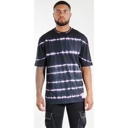 Clothing Men T-shirts & Polo shirts Sixth June T-shirt  Tie & Dye noir/violet