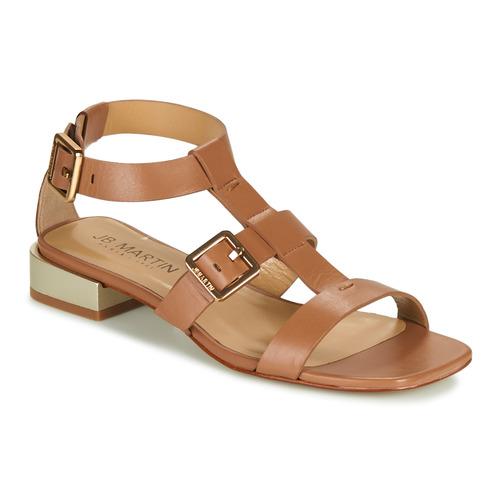 Shoes Women Sandals JB Martin HARIA Brown