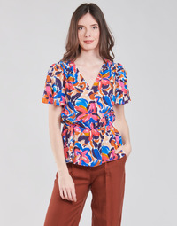Clothing Women Tops / Blouses Naf Naf LETE C1 Multicolour