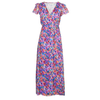 Clothing Women Long Dresses Naf Naf ODETTE R1 Multicolour