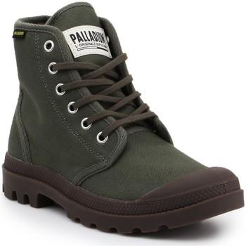 Shoes Mid boots Palladium Pampa HI Originale 75349-326-M olive green