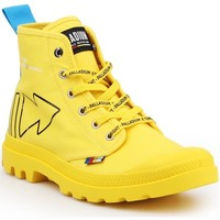 Shoes Mid boots Palladium Pampa Dare REW FWD 76862-709-M yellow