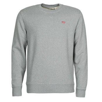 Clothing Men Sweaters Levi's NEW ORIGINAL CREW Grey