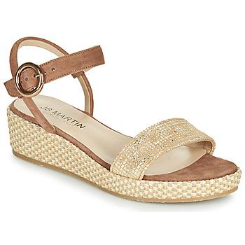 Shoes Women Sandals JB Martin 1JADENA Brown