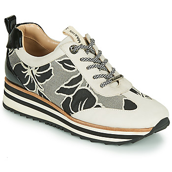 Shoes Women Low top trainers JB Martin 4CASSIE Grey / Black