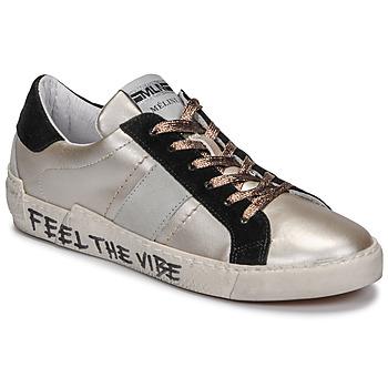 Shoes Women Low top trainers Meline NK1382 Bronze / Black