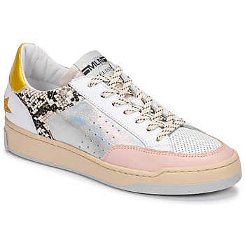 Shoes Women Low top trainers Meline BZ180 White / Pink