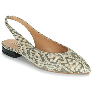 Shoes Women Flat shoes JB Martin VELANI White / Black