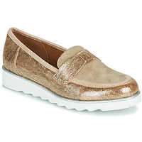 Shoes Women Loafers Sweet BETOUN Gold