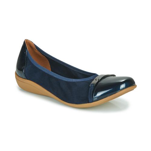 Shoes Women Flat shoes Sweet CLAMS Marine