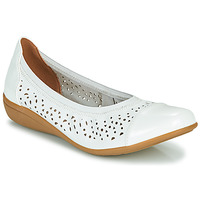 Shoes Women Flat shoes Sweet CLEZOU White