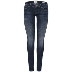 Clothing Women Skinny jeans Only ONLCAROL LOW 15182381 Blue