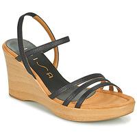 Shoes Women Sandals Unisa RENERA Black