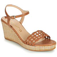 Shoes Women Sandals Unisa LOBI Camel