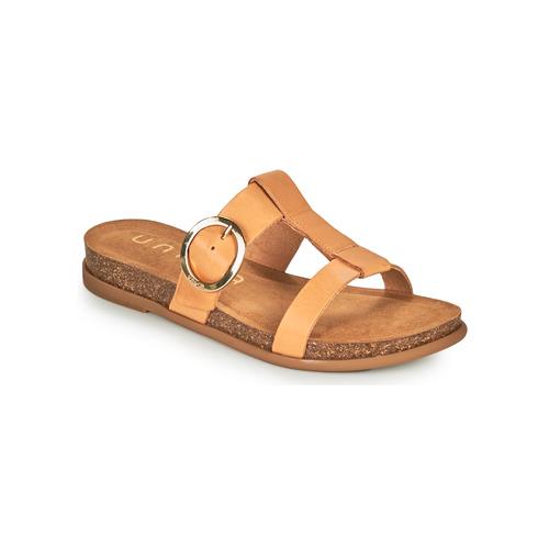 Shoes Women Mules Unisa CIVETA Camel
