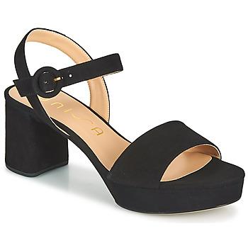Shoes Women Sandals Unisa NENES Black
