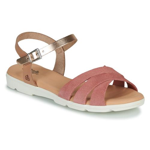 Shoes Girl Sandals Citrouille et Compagnie OBILOU Pink