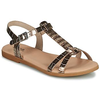Shoes Girl Sandals Citrouille et Compagnie OBIS Brown