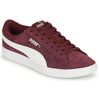 Shoes Women Low top trainers Puma VIKKY Bordeaux