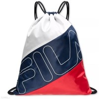 Bags Women Rucksacks Fila Sack Double Mesh White, Red, Navy blue
