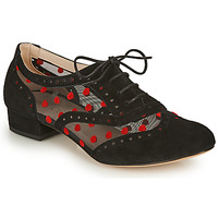 Shoes Women Brogues Fericelli ABIAJE Black / Red