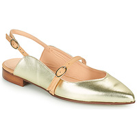 Shoes Women Flat shoes Fericelli SUSANNA Gold